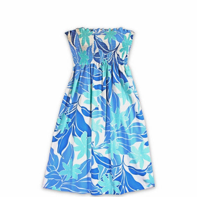 Sea Breeze Blue Moonkiss Hawaiian Dress - One Size / Blue - Women's Dress