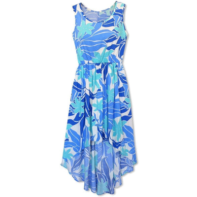 Sea Breeze Blue Sassy Hawaiian Dress - Womens Dress