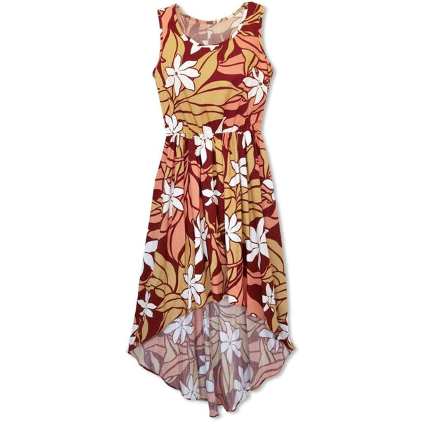 Sea Breeze Red Sassy Hawaiian Dress - Womens Dress