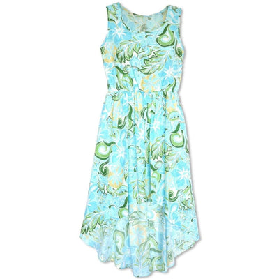 Seaglass Green Sassy Hawaiian Dress - Women's Dress