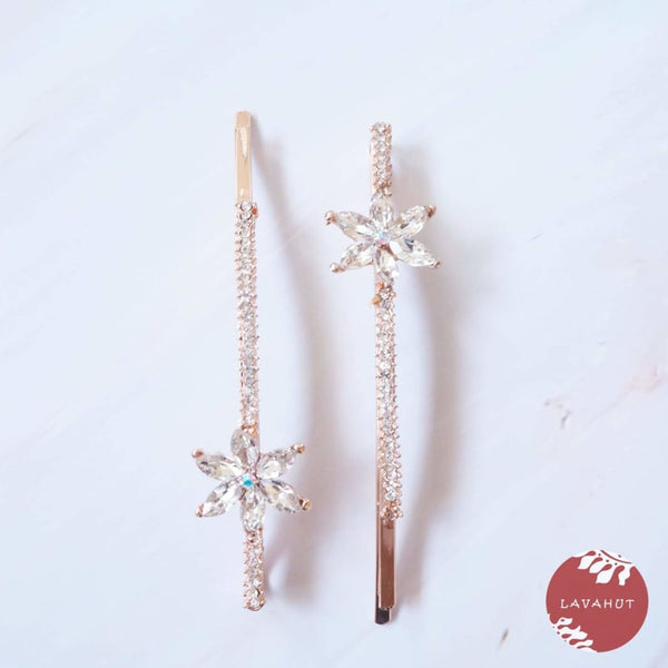 Starburst Sparkly Hair Pin Set - Hair Accessories
