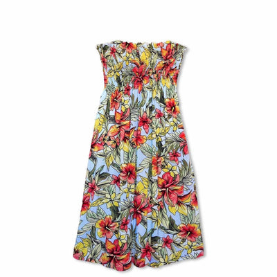 Sunny Blue Moonkiss Hawaiian Dress - One Size / Blue - Women's Dress