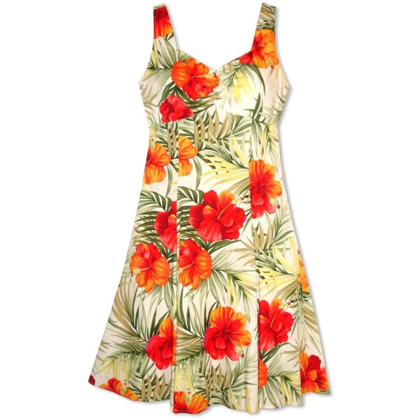 Tangerine Molokini Hawaiian Dress - Womens Dress