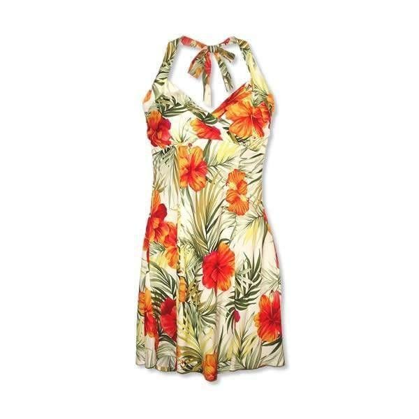 Tangerine Napali Hawaiian Dress - Womens Dress