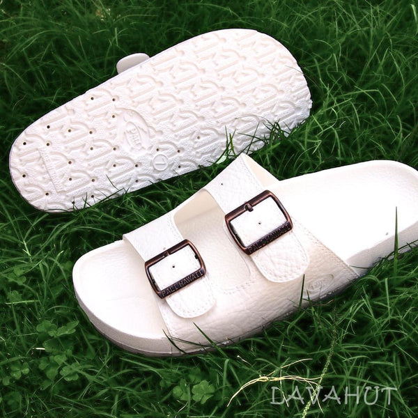 White Buckle - Pali Hawaii Sandals - Hawaiian Sandals