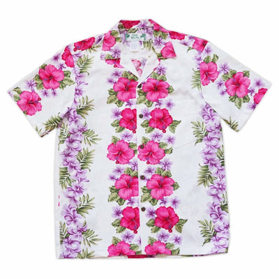 White Mist Hawaiian Cotton Shirt - s / White - Men's Shirts