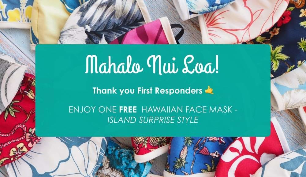 FREE FACE MASK FOR FIRST RESPONDERS AT LAVAHUT