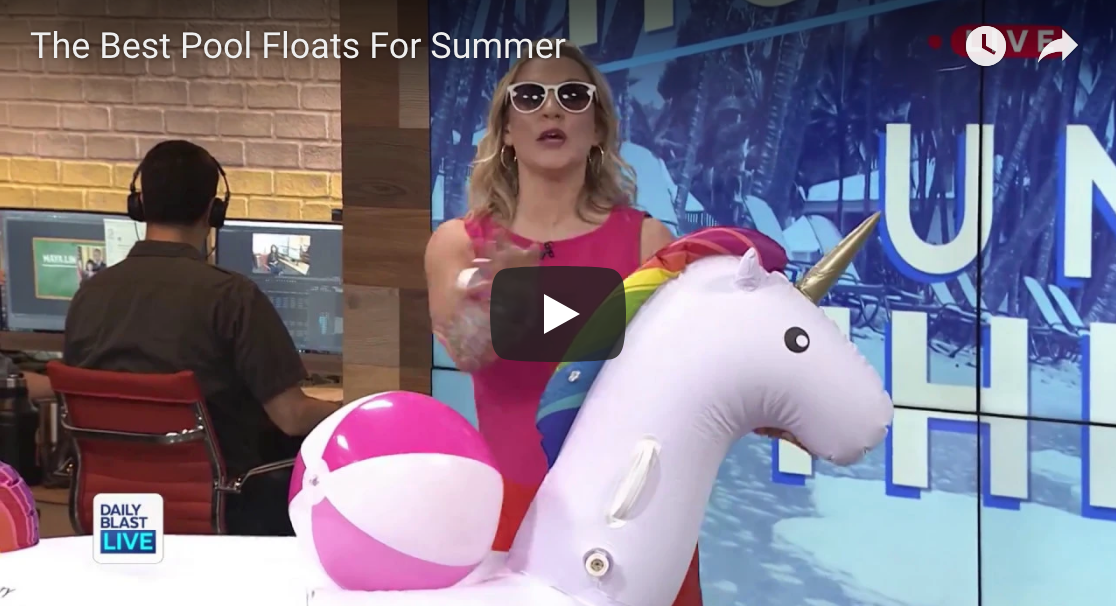 Daily Blast LIVE: The Best Pool Floats for Summer