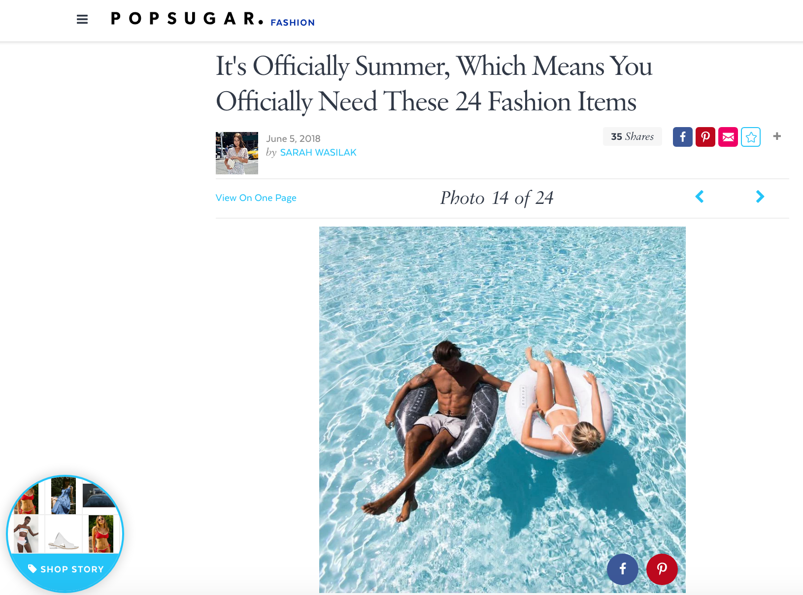 POPSUGAR: It's Officially Summer, Which Means You Officially Need These 24 Fashion Items