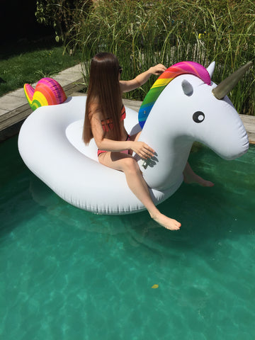 Kololo floaty giant Unicorn sitting turned