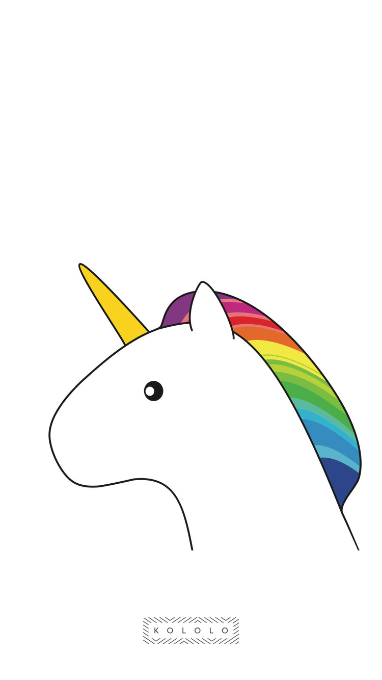 KOLOLO Unicorn Wallpaper iPhone 6, 7, 8