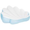 Blue Seashell Float - side #GETFLOATY