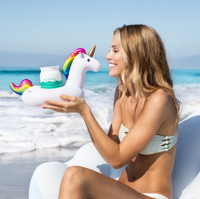 Mini Unicorn Cupholder kiss - #GETFLOATY