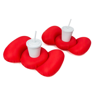 #GETFLOATY Hello Kitty Bow Cupholder Floaty inflatable set of 2