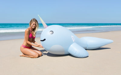 Giant Narwhal shore - #GETFLOATY