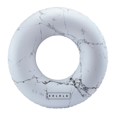 White Marble Tube - #GETFLOATY