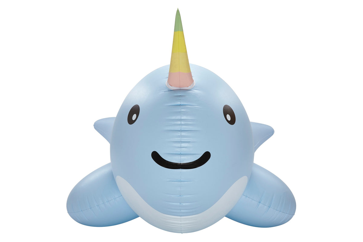Giant Narwhal front - #GETFLOATY