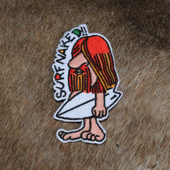 Surf Naked Patch (Iron-On