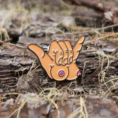 "Boobie-Shaka Pin 1.25"" (Original)"