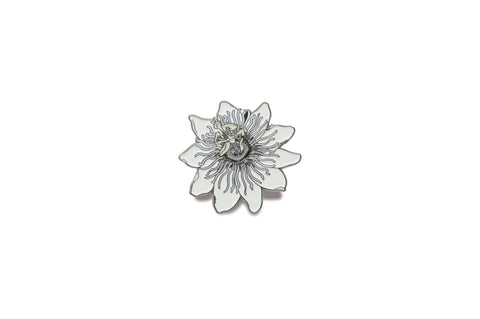 Lilikoi/ Passion Fruit Flower Pin