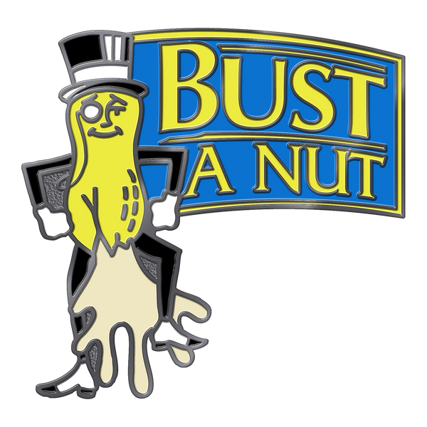 Busted Nut Pin