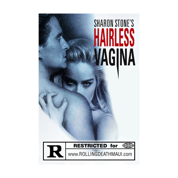 Sharon Stone's Hairless Vagina Pin