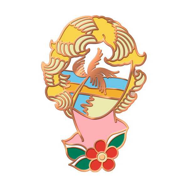 Face of Paradise V2.0 (Sunset) Pin