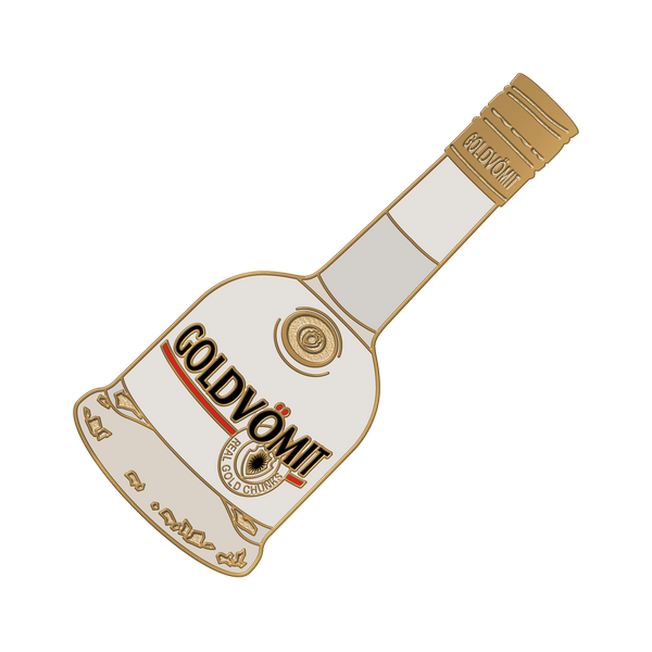 GoldVömit Pin