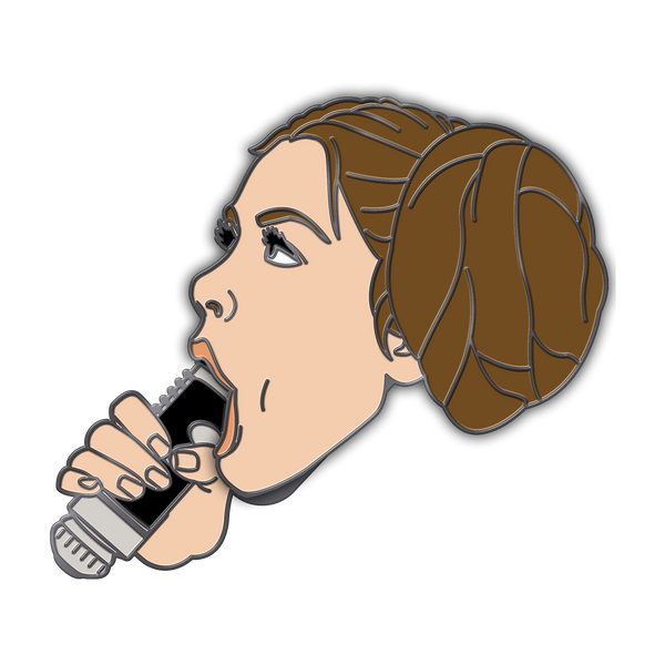 Princess Leia XXX Pin