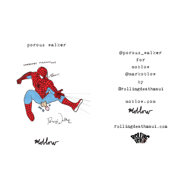 Porous Walker - Spidey Pin