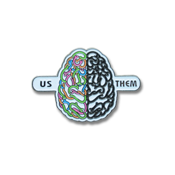 US/THEM Pin