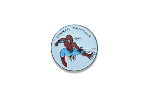 "porous walker ""spidey wardrobe malfunction"" Pin"