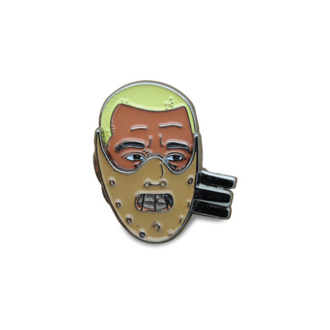 Silence of The Kanye / One Flew Over The Cuckoos West V2.0 Pin