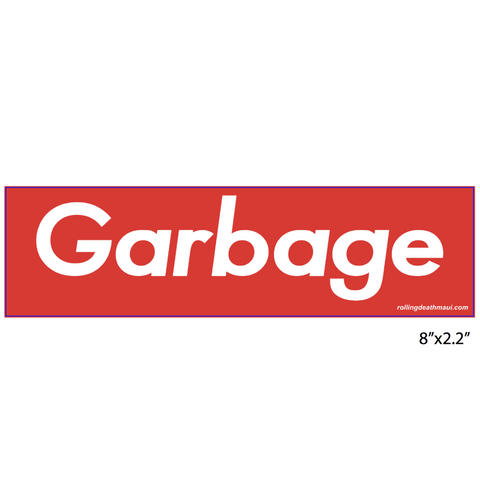GARBAGE / SUPREME 3 Pack