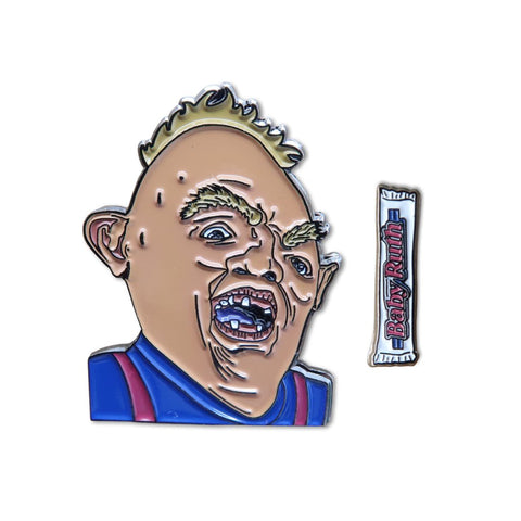 Sloth Pin + Mini BABY RUTH Pin