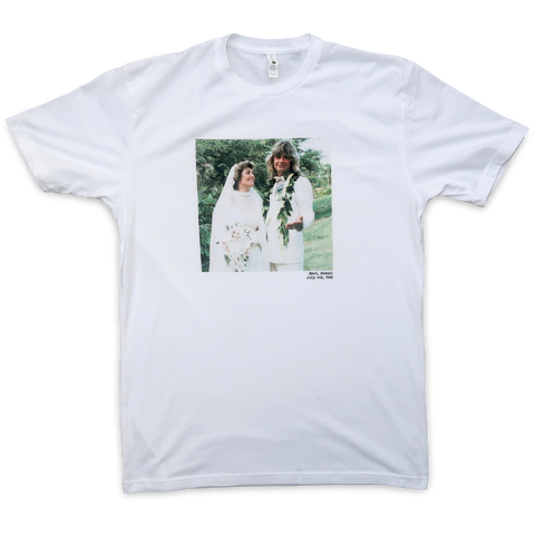 Ozzy + Sharon Osbourne Wedding T-Shirt