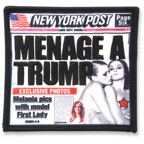 MENAGE A TRUMP Patch