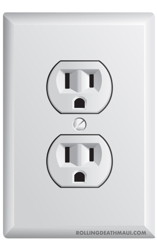 Fake Airport Outlet Sticker 2-Pack