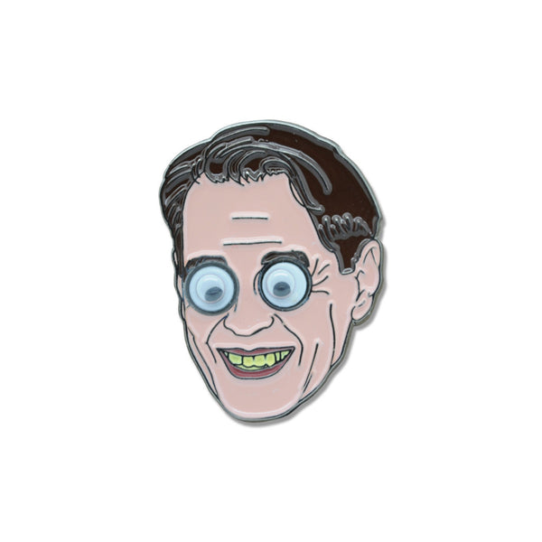 Steve Buscemi Googly Eyes V3.0 Pin