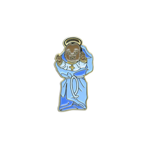 Black Baby Jesus Pin