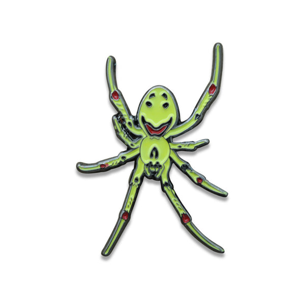 "Theridion Grallator ""Smiling Spider"" Pin"