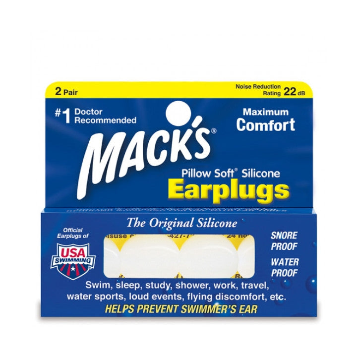 Mack's Pillow Soft Earplugs - Just Roughin' It