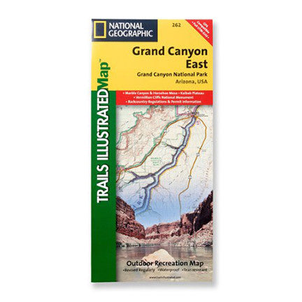 Grand Canyon East Map