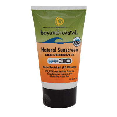 Beyond Coastal Natural Sunscreen SPF 30 - Just Roughin' It