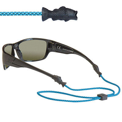 Chums Fish Tip Eyewear Retainer - Just Roughin' It