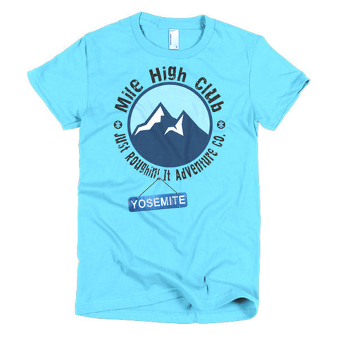 Mile High Club Yosemite Women's T-Shirt