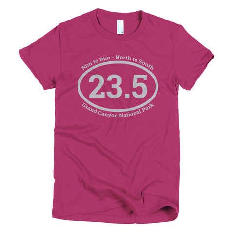 Rim to Rim Short Sleeve Women's T-shirt