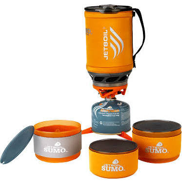 Jetboil Sumo Cooking System With Companion Bowl Set - Just Roughin' It