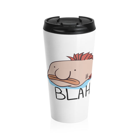 Blobfish BLAH Stainless Steel Travel Mug