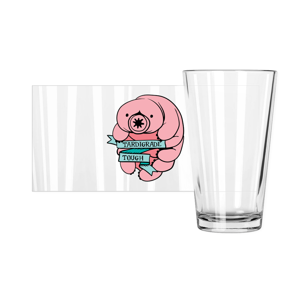 Tardigrade Tough Pint Glasses